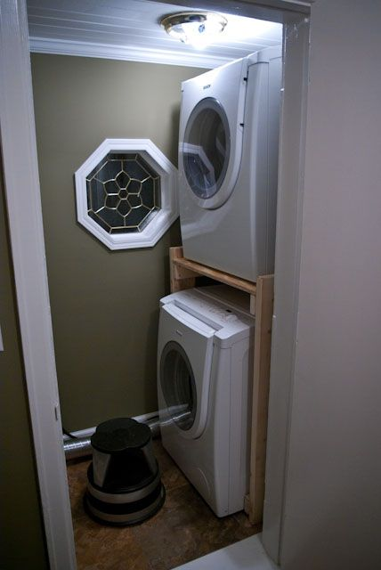 best 25 stacked washer dryer ideas on pinterest wash room laundry and utility services. Black Bedroom Furniture Sets. Home Design Ideas