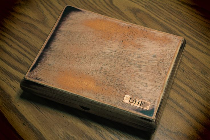 Audiophile Purist DC (batteries) RIAA Phono Stage Turntable Preamp > Reclaimed & Repurposed Distressed Wood Case > Made in California USA
