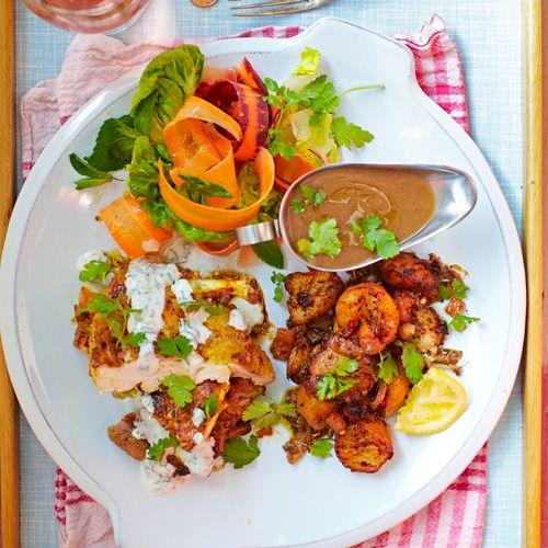 Gebraden kip met korianderyoghurt recept - Jamie magazine