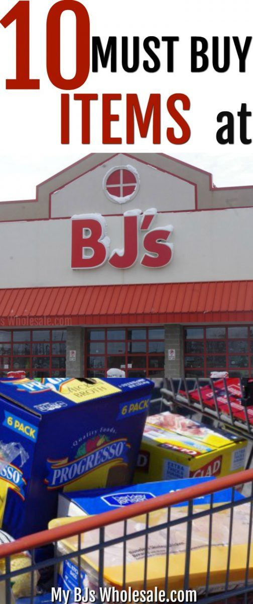 Wondering what the best items to buy at BJ's Wholesale club are? Here is a list of the 10 Must buy items at BJ's Wholesale Club. #BJsWholesale #warehouseclubs #savemoney via @tasiaboland