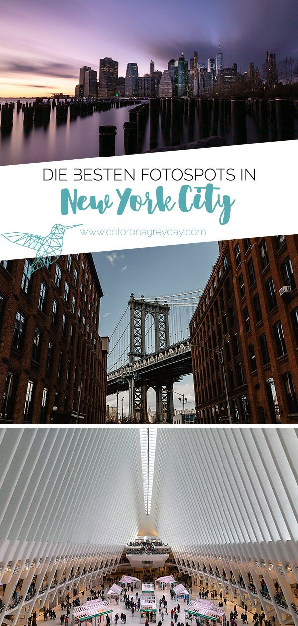 Die 10 besten Fotospots in New York City – coloronagreyday