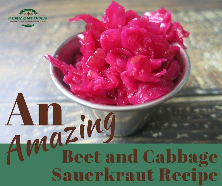 An Amazing Beet and Cabbage Sauerkraut Recipe   Fermentools.com