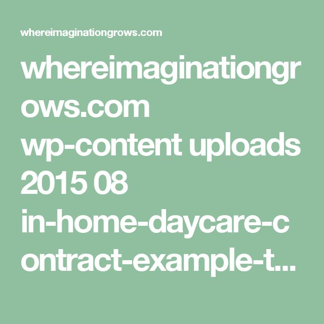 whereimaginationgrows.com wp-content uploads 2015 08 in-home-daycare-contract-example-template.jpg