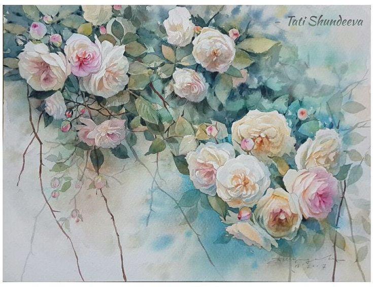 """""""Velvet of roses"""" (41*31cm, Saunders Waterford) 🌹🌹🌹 """"Розовый бархат""""  Любопытство погубило кошку... Или нет?  Не удержалась, закончила картину. Потому что пустые места не дают мне покоя"""