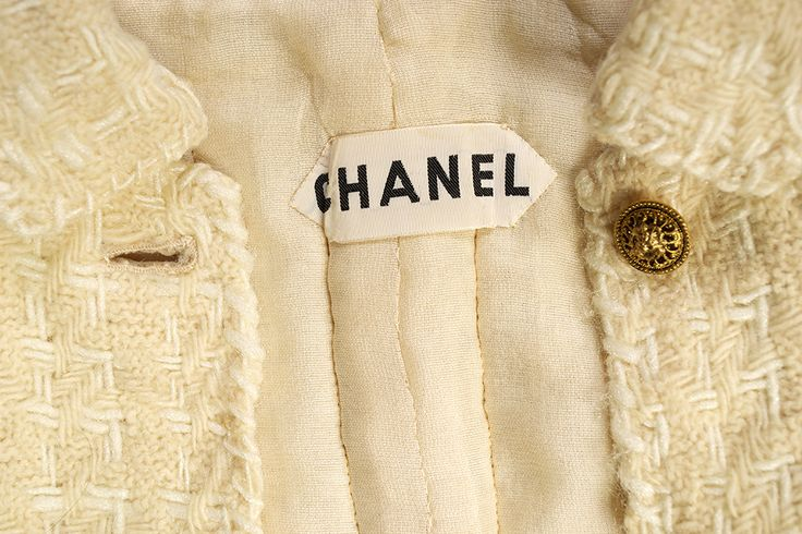 Chanel suit of yellow wool, 1960s | INSIDE OUT