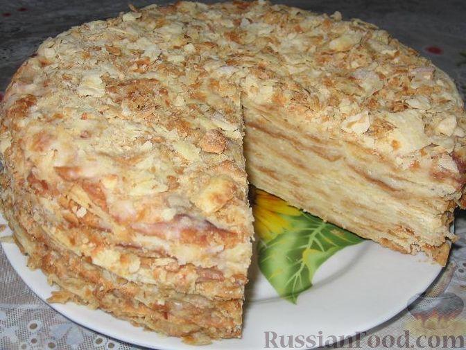 Рецепт: Старый Наполеон на RussianFood.com