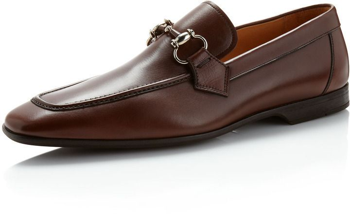 Magnanni For Neiman Marcus Belmont Bit Loafer Mid Brown