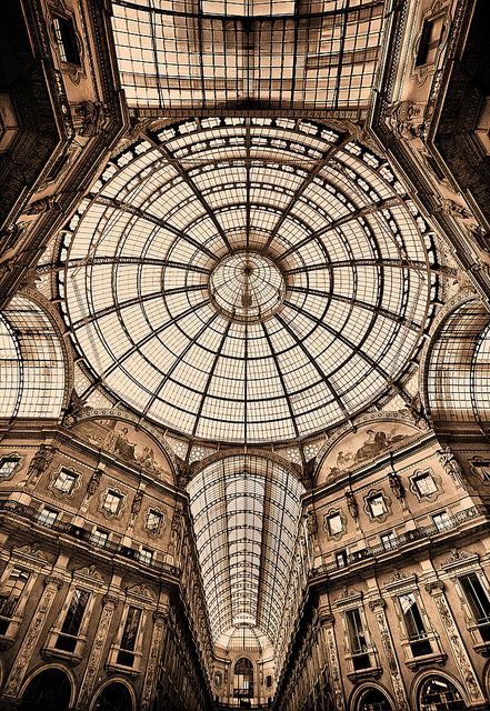 Galleria Vittorio Emanuele in Milan- Italy