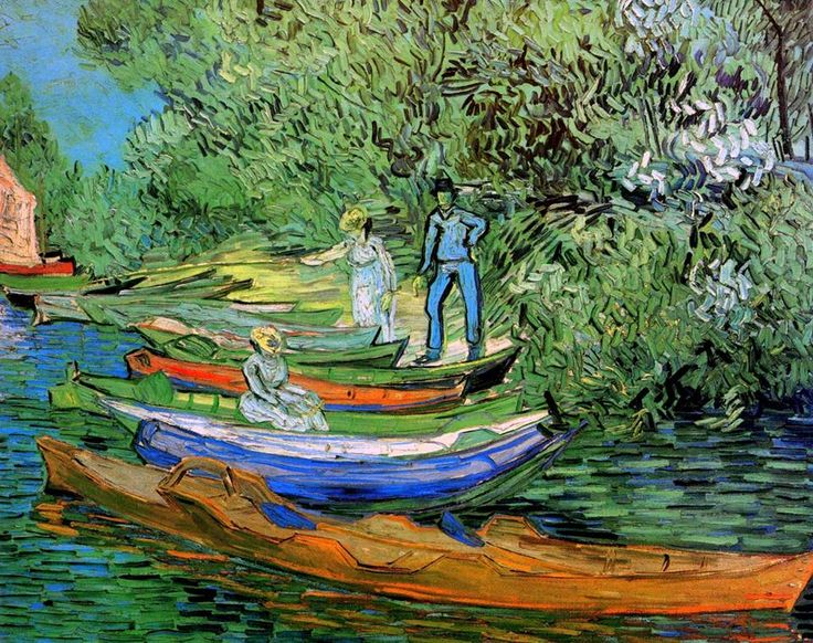 Vincent van Gogh (1853-1890) Bank of the Oise at Auvers, 1890 Olio su tela, 73,5 x 93,7 cm Detroit Institute of Arts