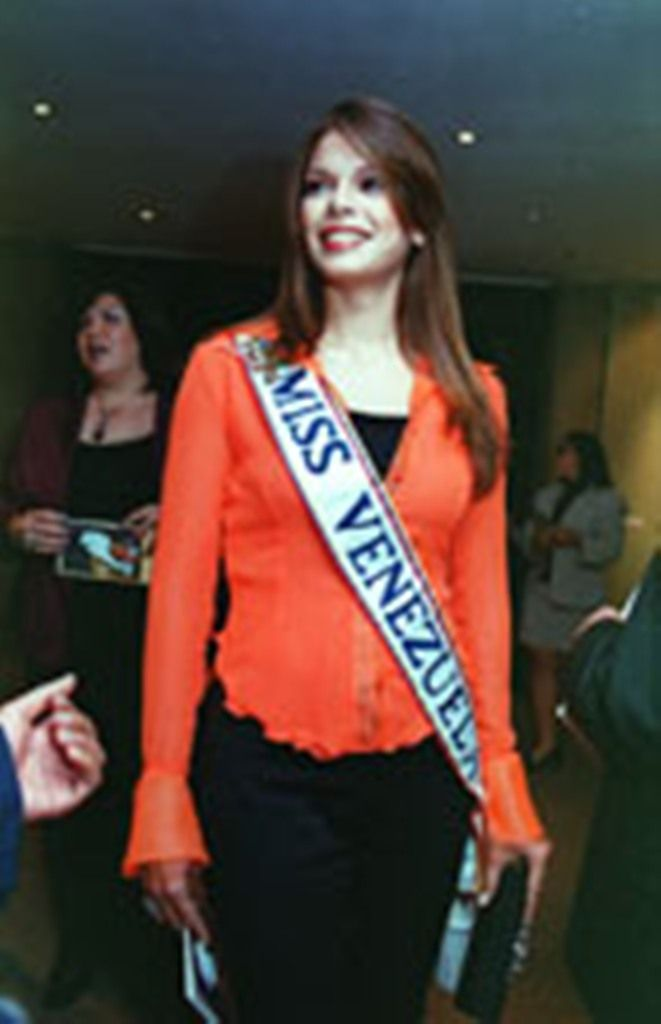 Mariangel Ruíz Miss Venezuela 2002. en Panamá en el Miss Universe 2003..