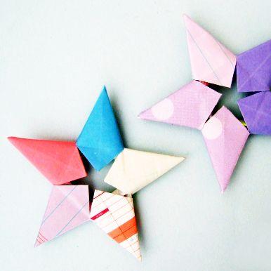 Stella origami Tutorial Fotografico
