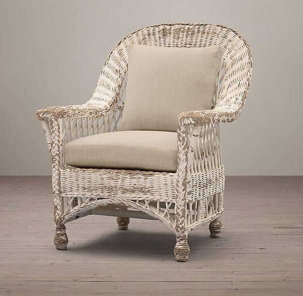 Langtry Wicker Chair White Style Furniture Pinterest Wicker Chairs And Shabby