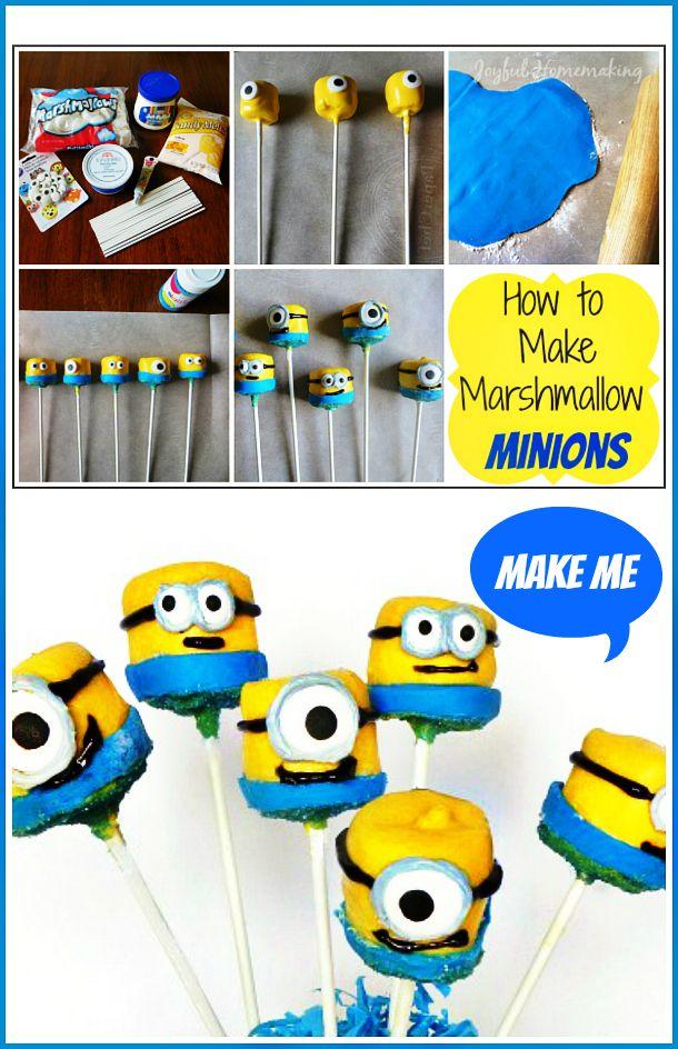 Find the 7th Minion and Make a Minion Marshmallow…