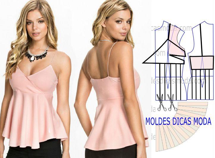 Faça a leitura da transformação de blusa rosa de alças com rigor este passo é muito importante para concluir o exercício com êxito.
