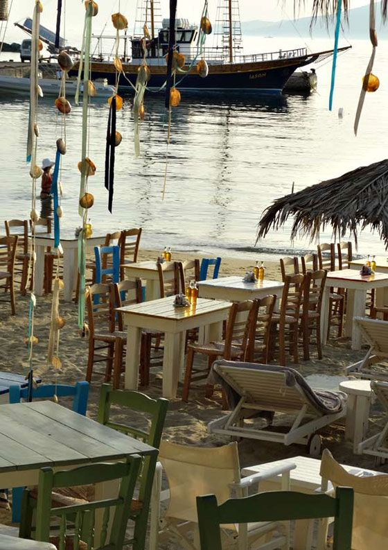 Naxos Fish tavern in Agia Anna