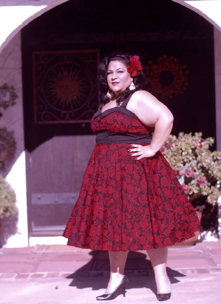 Plus size rockabilly dresses uk