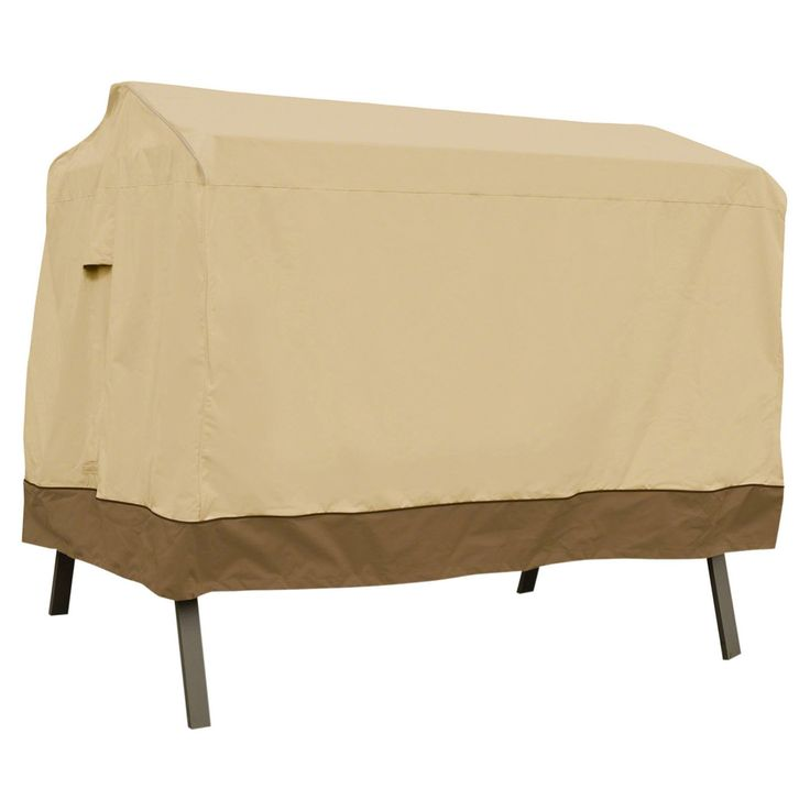 Classic Accessories Veranda Canopy Swing Cover Pebble Canopy Swing Patio Furniture Covers Outdoor Furniture Covers