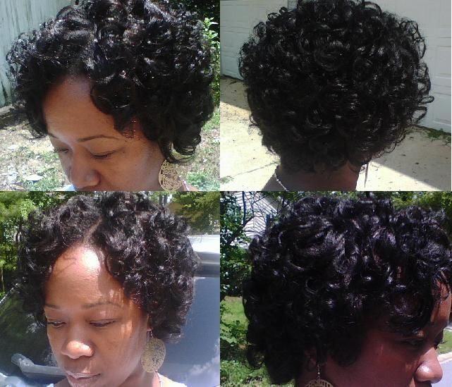 protective styles for neck length hair flexi rod hairstyle on relaxed hair 6379