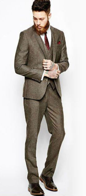 Make sure you look like a million bucks in your next suit. See this look and more!
