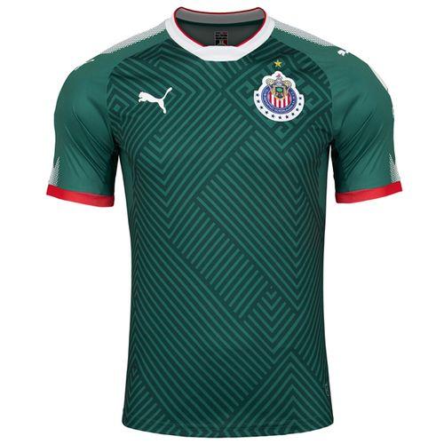 099b4e71c PUMA Men s Chivas 17 18 Third Jersey Green