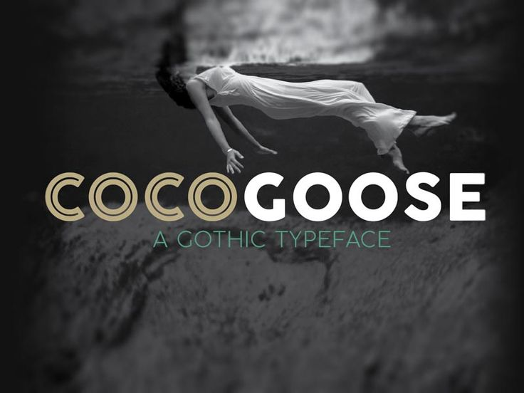 Cocogoose - Free Font