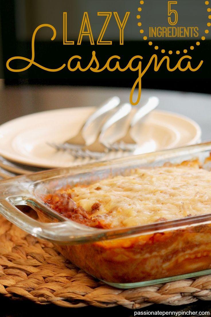 Lasagne Rezept für faule Köche
