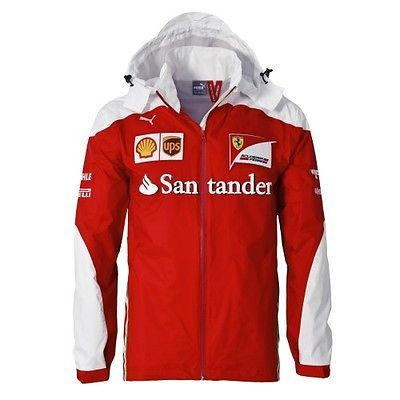 Scuderia #ferrari f1 #official team rain #jacket - 2016 - mens ,  View more on the LINK: http://www.zeppy.io/product/gb/2/112083355139/