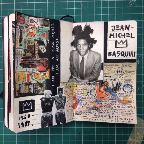 January 2015 - Basquiat inspiration page