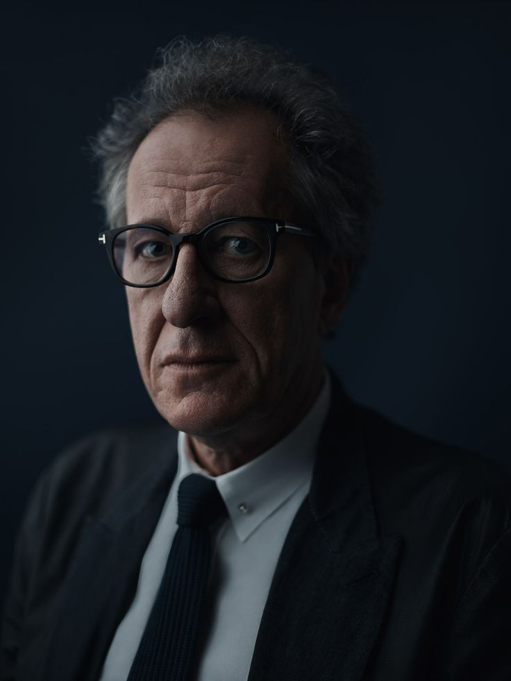Portrait of Geoffrey Rush, Actor by Joey L.