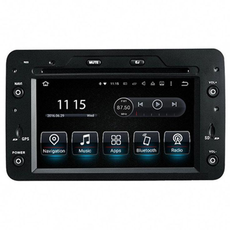 """6.2"""" Android Car Multimedia Stereo GPS Navigation DVD"""