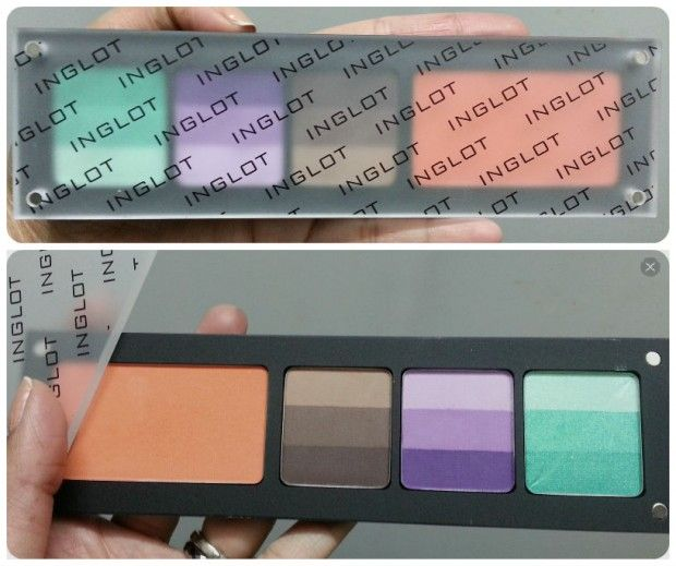 Review: Inglot Freedom System – Rainbow Eyeshadow Palette (with blush)