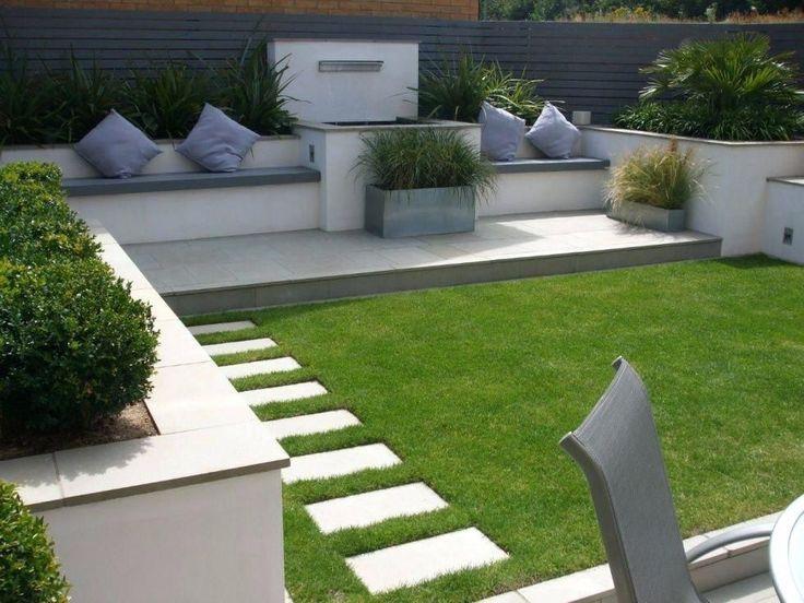 Minimalist Backyard Garden
