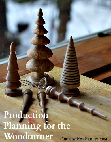 Production Planning for the Woodturner - Turning for Profit