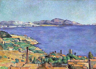 Cezanne | The Gulf of Marseilles Seen from L'Estaque, c.1885