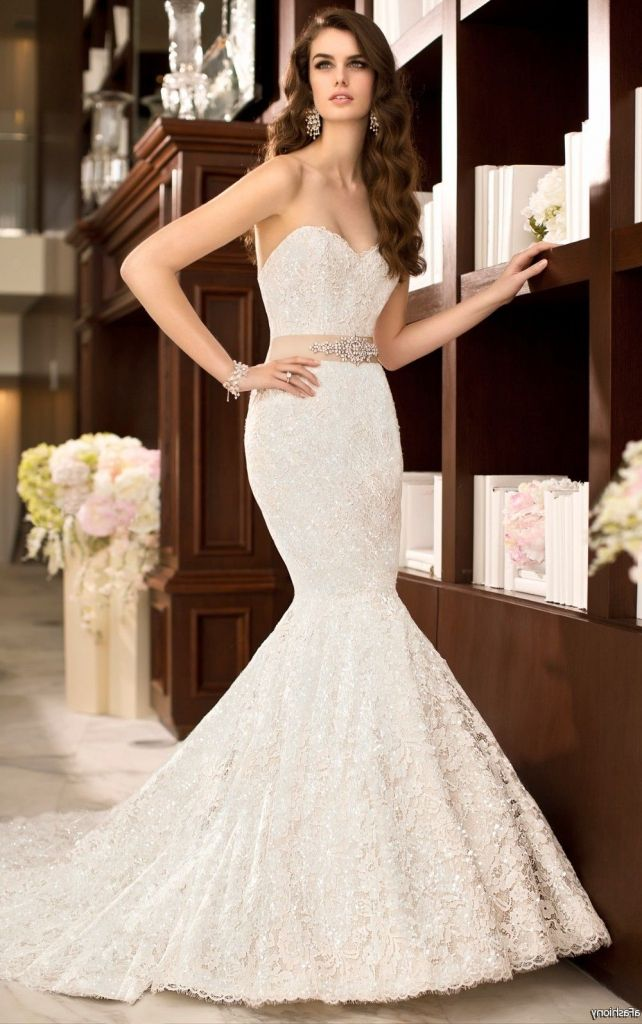 Mermaid Style Bridesmaid Dresses 2016 - http://misskansasus.com/mermaid-style-bridesmaid-dresses-2016/