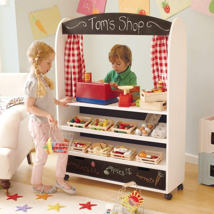 Image result for pretend homemade toy shop