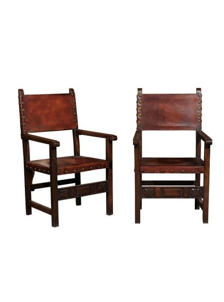 set of six renaissance style armchairs modern dining room