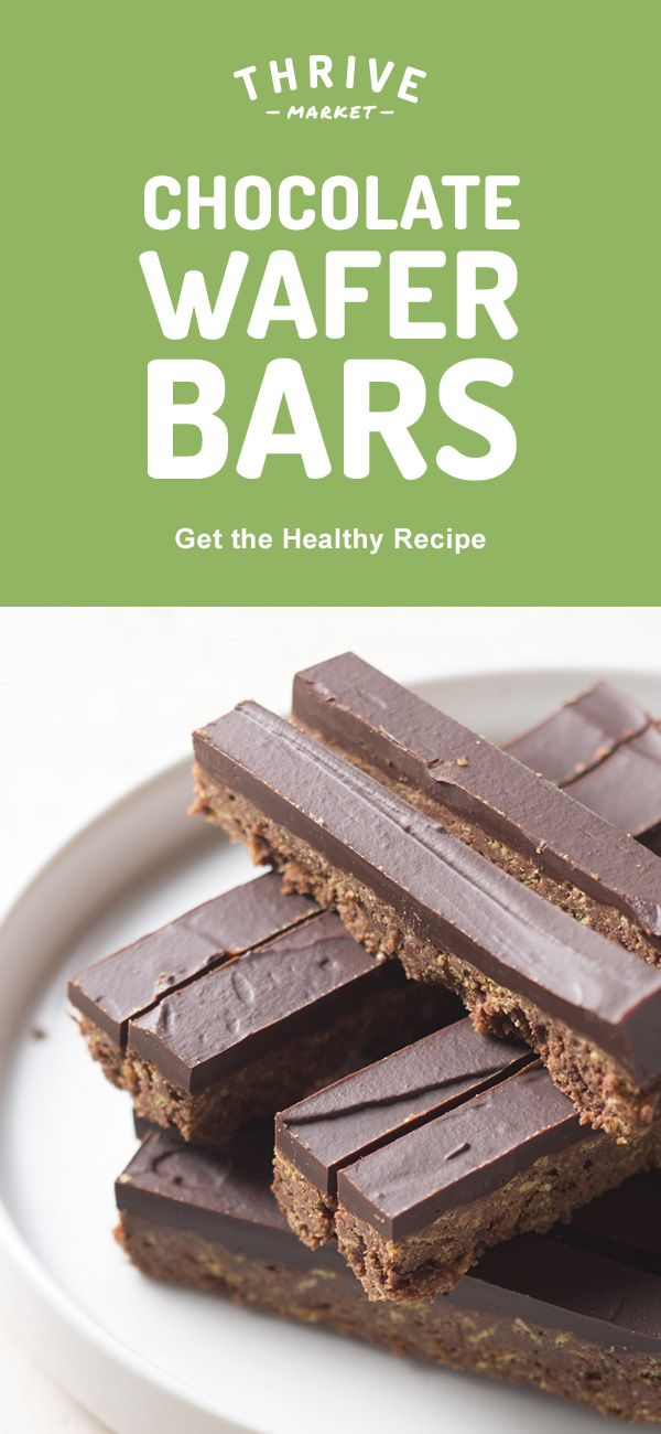 Break me off a piece of this healthy twist on the iconic Kit Kat candy! Made with hazelnut and coconut, this Paleo-friendly, sugar-free version will surely be a favorite treat. Get the full exclusive recipe at Thrive Market! Discover hundreds more easy, delicious one-of-a-kind recipes found only at Thrive Market! Also, save on organic, non-GMO ingredients, all up to 50% off every day!