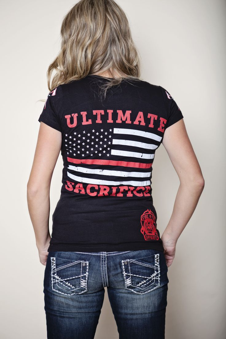 The Thin Red Line V-neck shirt