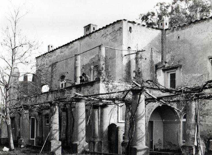 Villa Orlandi, Anacapri, 1971, Foto Mimmo Jodice