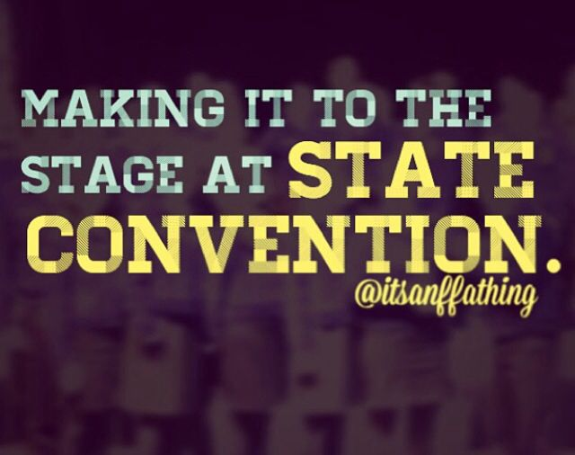 and at National Convention too!