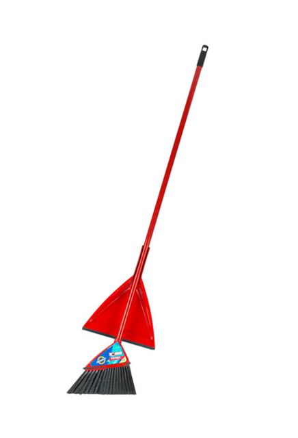 Oskar Rite-angle broom with dust pan: Rite-angle broom with dust pan