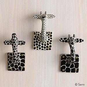 Hooks - Giraffe Wall Décor