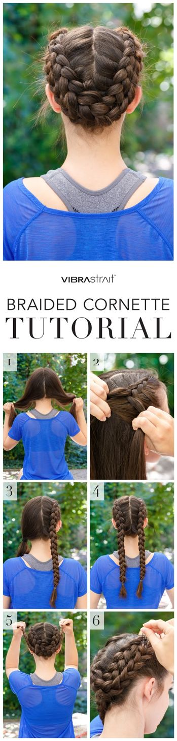 Fall's hottest hairstyle is here! Perfect your braided cornette in just 6 simple steps!
