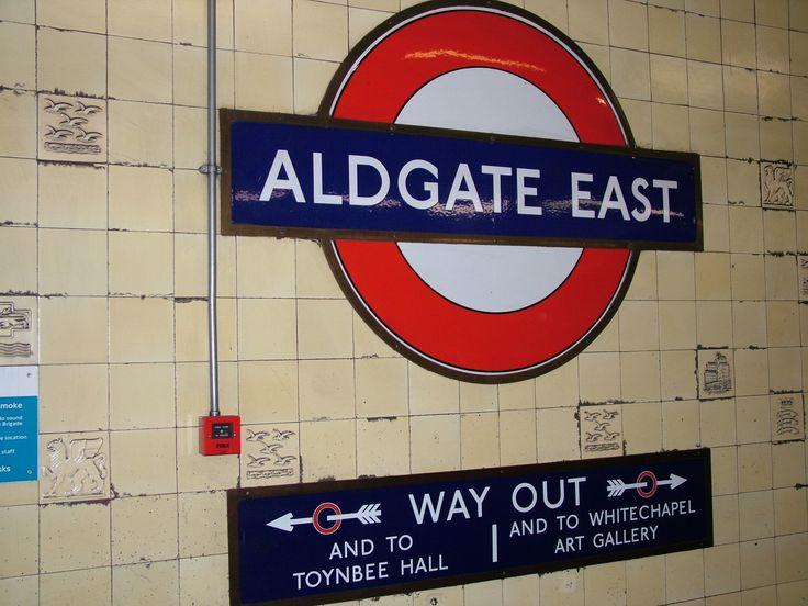 Aldgate Tube stop