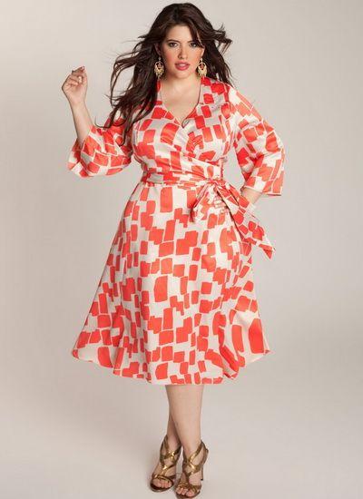 Штапельные платья больших размеров для полных женщин (68 фото): фасоны и модели