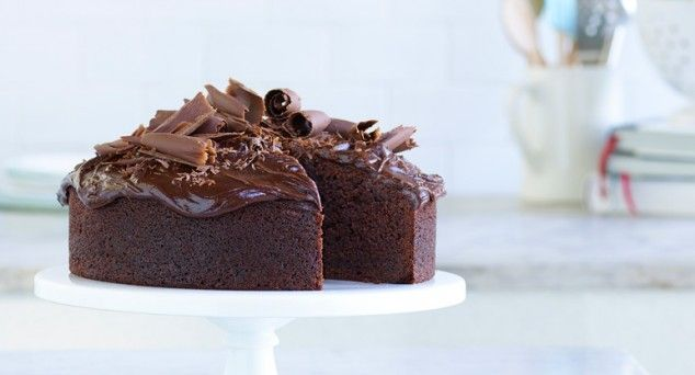 Grab a spoon, we're revolutionising traditional chocolate cake!  #desserts #baking #chocolate