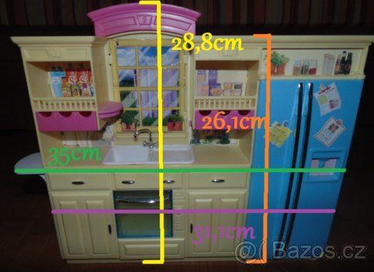 Barbie kuchynka - 1