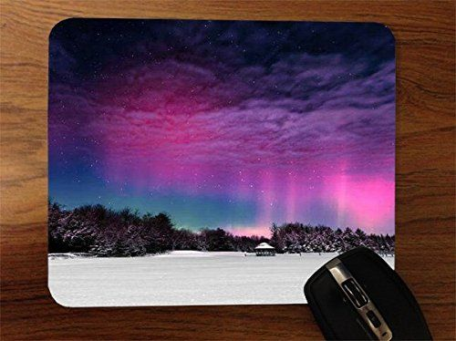 Trendy Accessories Northern Lights in Norway Design Pattern Print Desktop Office Silicone Mouse Pad avaialble at https://www.amazon.com/dp/B014MI2YZO #mousepad #siliconemousepad #customizedsiliconemousepad #computeraccessories #laptopaccessories #desktopaccessories #officewareaccessories #northernlightsinnorway #tadesigns