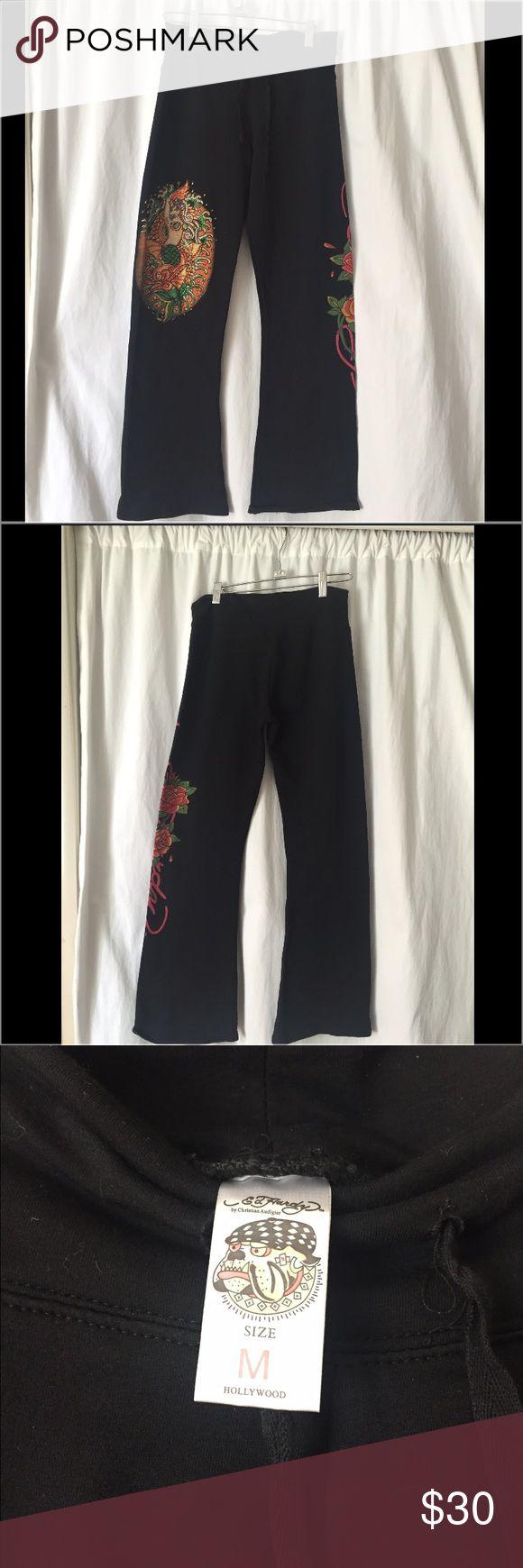 Selling this Ed Hardy sweatpants NWOT 🌺😍❤️Sz M on Poshmark! My username is: mygirls1618. #shopmycloset #poshmark #fashion #shopping #style #forsale #Ed Hardy #Pants